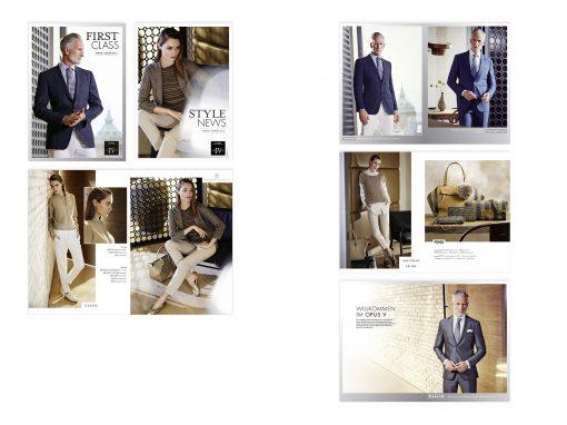 Portfolio Magalog für Modehaus Engelhorn